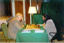 Lady vs Gentlemen - playing M.Chiburdanidze, Spain 1999