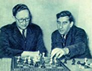 Analysis with his trainer Igor Bondarevsky.